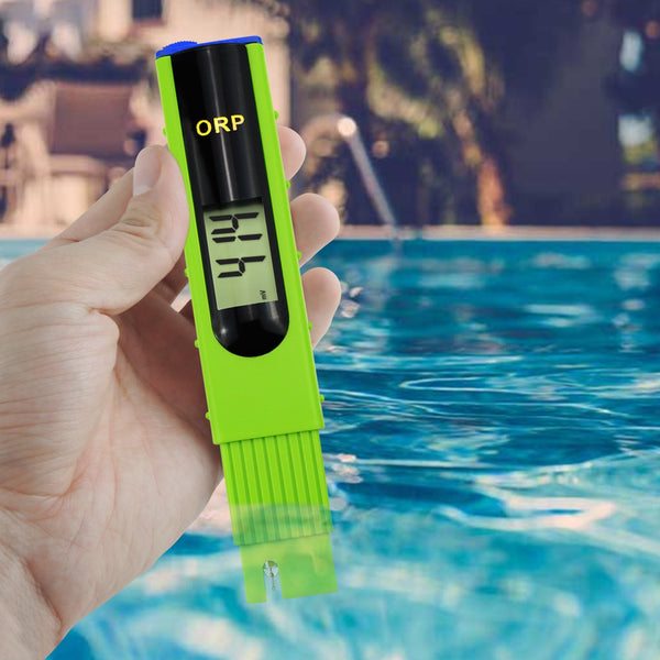 ORP-228 ORP Redox Meter Tester -1999~1999mV, 1-point Calibration, Aquariums, Swimming Pools, Water Quality Tester