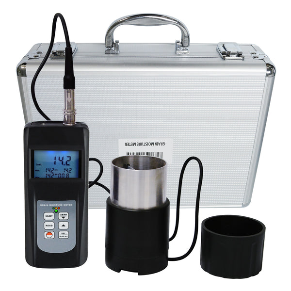 MC-7828GG Digital Grain Seed Moisture Meter Rice Coffee Wheat Tester 50% LED Indicator 36 Species