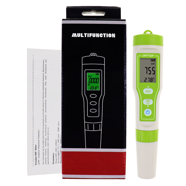 ORP-301 Pensize ORP Redox Tester -1200~1200mV Water Quality Measurement ±2mV High Accuracy Oxidation Reduction Potential Meter