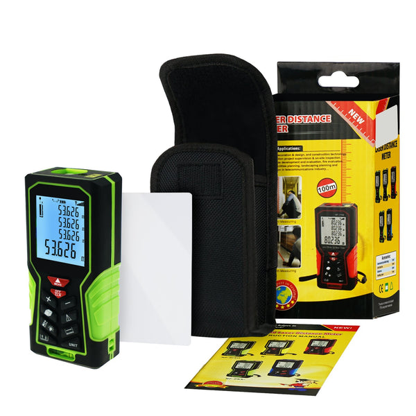 DIS-60 Digital Laser Distance Meter 40m (131ft) Handheld Range Finder Area & Volume Measuring Tools