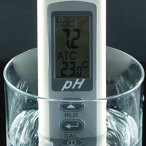 868-5 Waterproof pH meter with Temperature + Auto Calibration