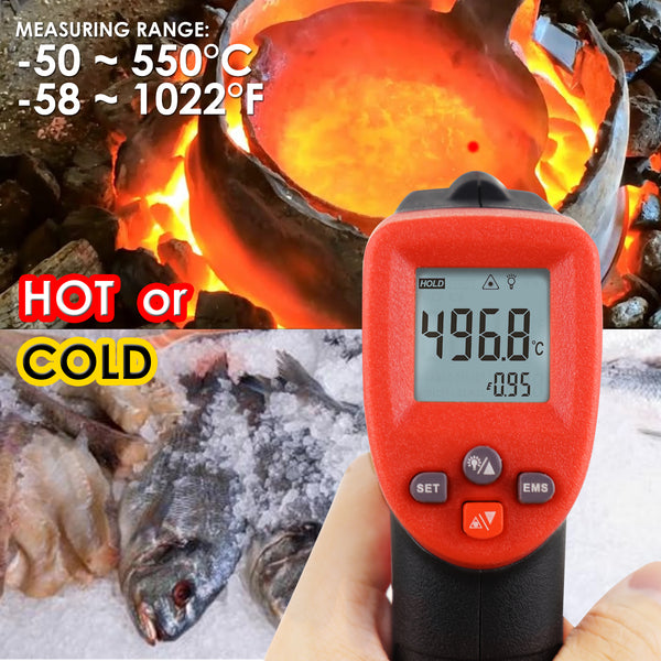 THE-262 Lasergrip Non-Contact Digital Laser Infrared Gun Thermometer