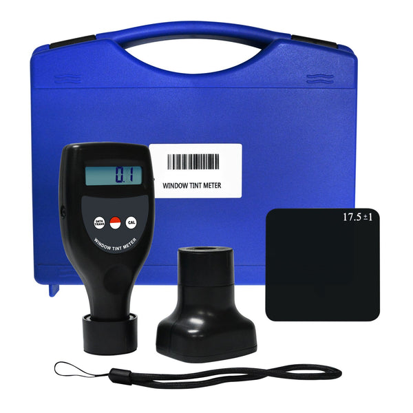 WTM-1200 Wireless Window Tint Meter 0-100% Handheld UV Infrared Light Transmittance