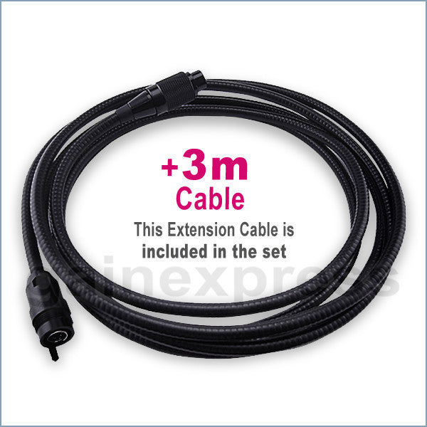 "C0599H_4M Industrial 4M Cable Camera Borescope Endoscope 10mm LED 3.5"" TFT LCD"