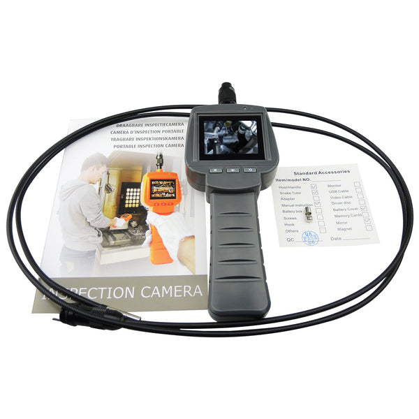 VID-71_5.5_2M Industrial Video Inspection Camera 5.5mm Diameter with 4 LED, 2M Cable Endoscope Borescope IP67