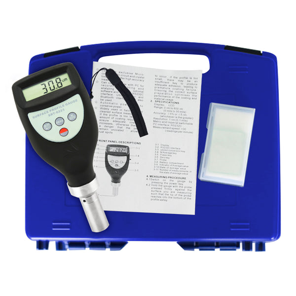 SRT-6223 Digital Surface Profile Gauge Roughness Tester Meter w/ 0~800 μm Measuring Range