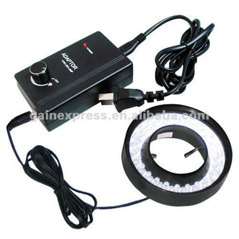 GX-480 48 LED Microscope Camera Ring Light Illuminator (60mm max dia)