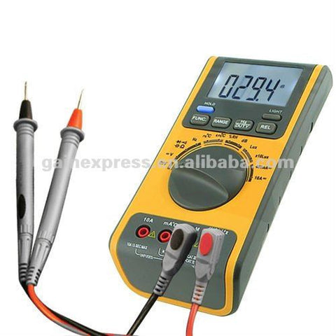 GVA-19 5-in-1 Multimeter with LUX, dB, °C, RH, AC, DC