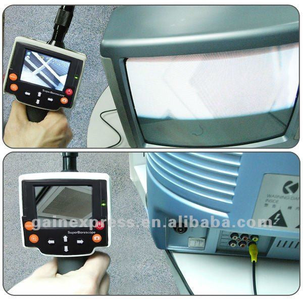 "VID-8 Industrial 2.4"" Recordable Waterproof Endoscope Inspection Video + SD Card"