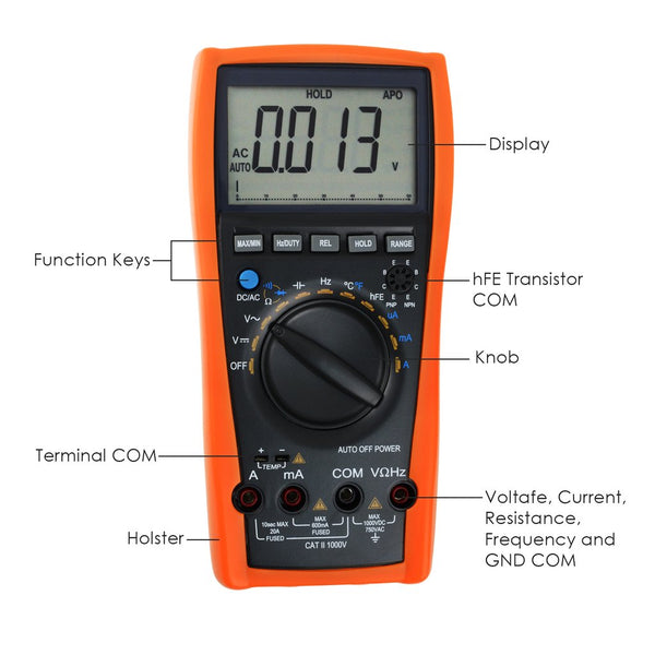 VC-99 Digital Tester Multimeter Thermometer Resistance