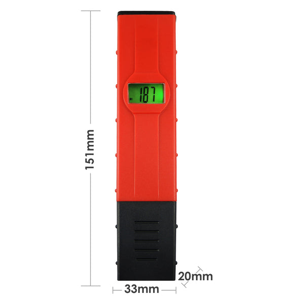 ORP-002 Pen-type Redox Meter Digital LCD Pool Aquarium ORP Water Quality Tester with Backlight