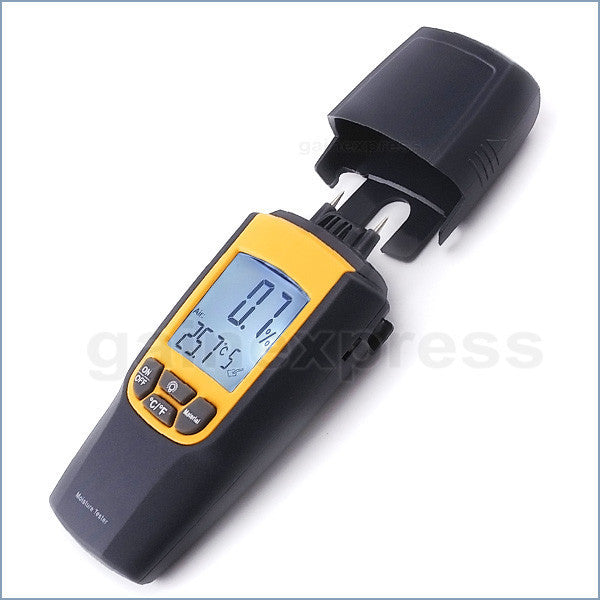 VA-8040 Moisture & Temperature Meter °C °F Wood Bricks Concrete Cement Lime Mortar CE Marking Dual Meter Tester