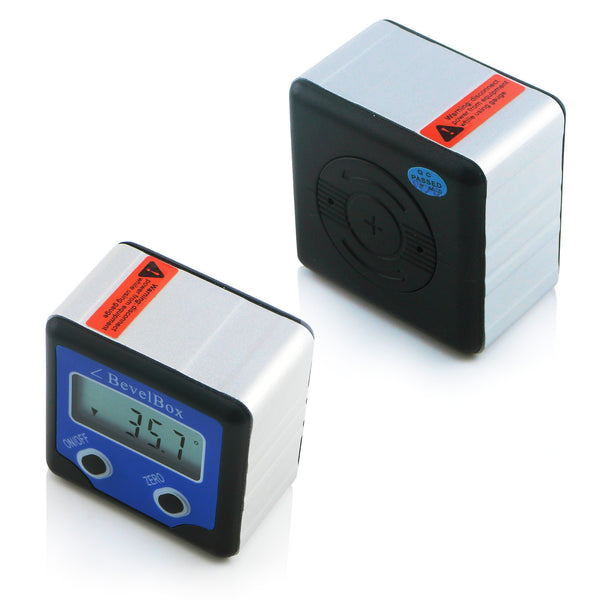 AG-0200BB Digital 360° Bevel Box / Inclinometer with Magnets Protractor Angle Finder 0.1° Accuracy IP54 Rate