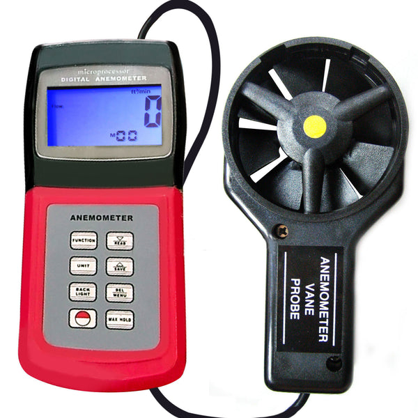 AM-4836V Multi-function Thermo Anemometer with °C & °F