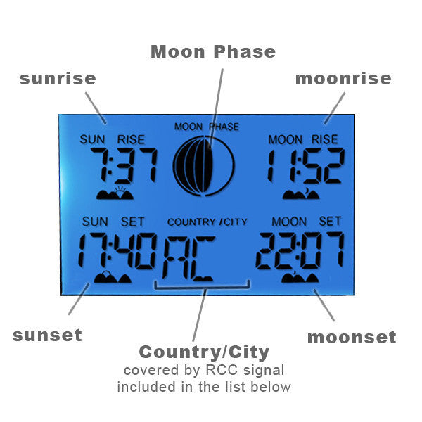 R01AOK-5018B Digital Wireless Indoor Outdoor Weather Station Thermometer