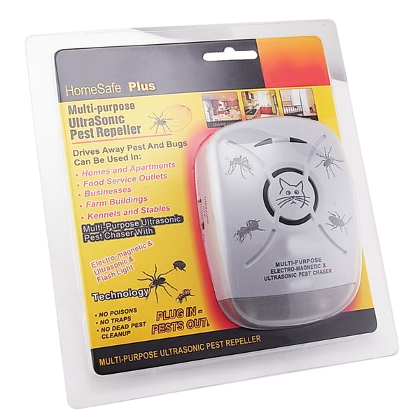 AR-131-110V Ultrasonic Mosquito Cockroach Spider Pest Bugs Repeller