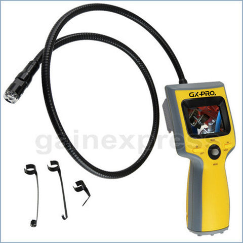 "C0588B Portable 2.4""Video Inspection Endoscope 12mm Camera with Built-in 36"" Cable"