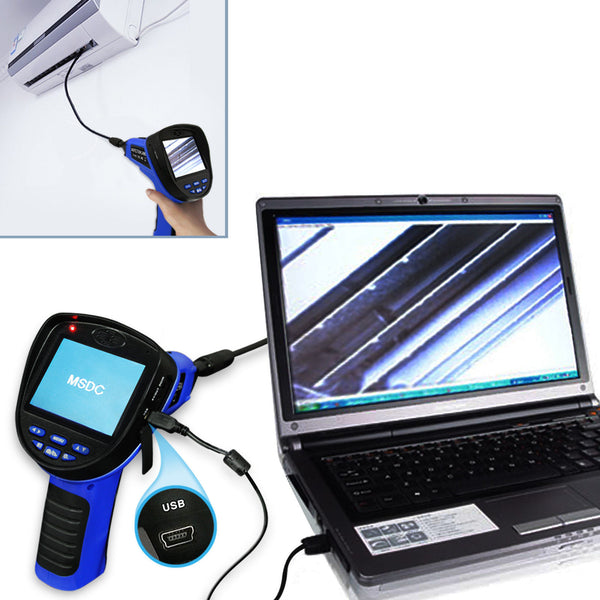 C0599E-5530L1 Industrial 3.5inch LCD 5.5mm Camera Video Inspection 6 LED Lights Borescope Endoscope