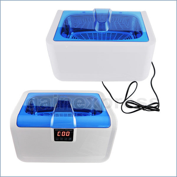 CE-7200A Stainless Steel 2.5L Ultrasonic Cleaner Heater Jewelry Watches Dentures w/ Timer 110V/220V