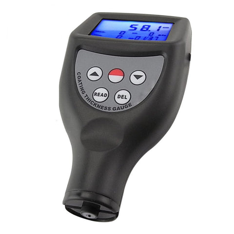 CM-8855FN Paint Coating Thickness Gauge F/NF Probes Big LCD