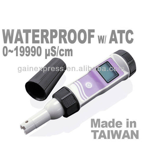 Cond-21 Waterproof Professional Digital 19990us/cm ATC Conductivity Meter EC Tester Taiwan Made