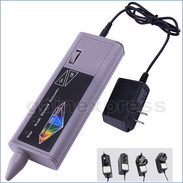 DMT-2  Dual 2-in-1 Diamond / Moissanite Tester + Adaptor