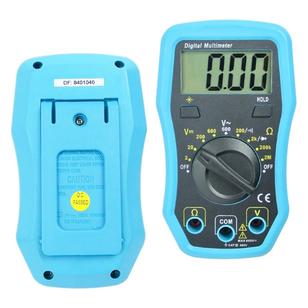 E04-008 Multimeter Dc AC Resistance Diode Tester w/ Backlight