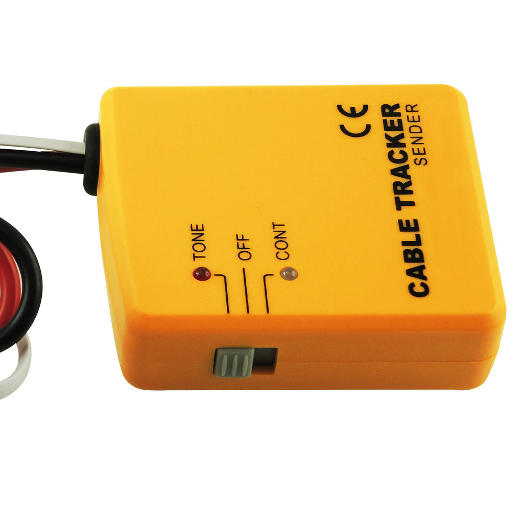E04 026 Telephone Line Cable Tracker Wire Tracer Tester Sender And Electrical Wiring Reciever Kit Tone Continuity