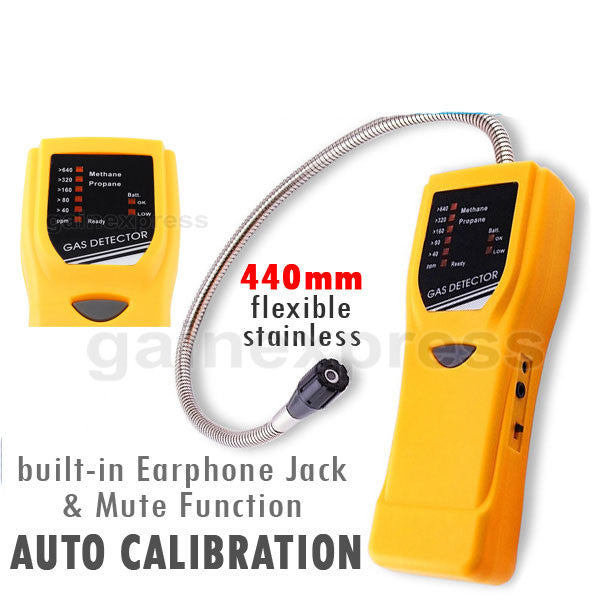 GD-7291 Precision Combustible Methane Propane Gas Leak Detector