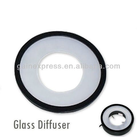 Optional Frosted Glass Diffuser for Microscope Ring Light ( GX-480)