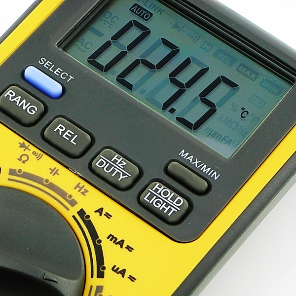 GVA-18B AC/DC Multimeter Auto Range w/ CD & USB