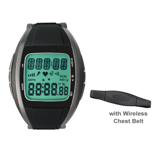 HRM-2803 Heart Rate Monitor Wireless Chest Strap Watch Fitness Belt Sport