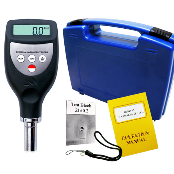 HT-6510A Digital Hardness Durometer Meter Tester Rubber Shore A