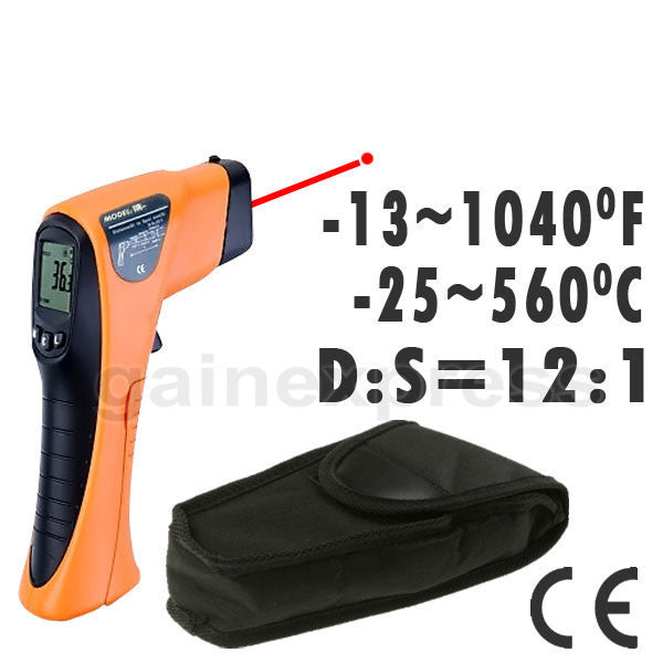 IR-8560 Digital Non-Contact IR Thermometer -13~1040°F -25~560°C, 12:1