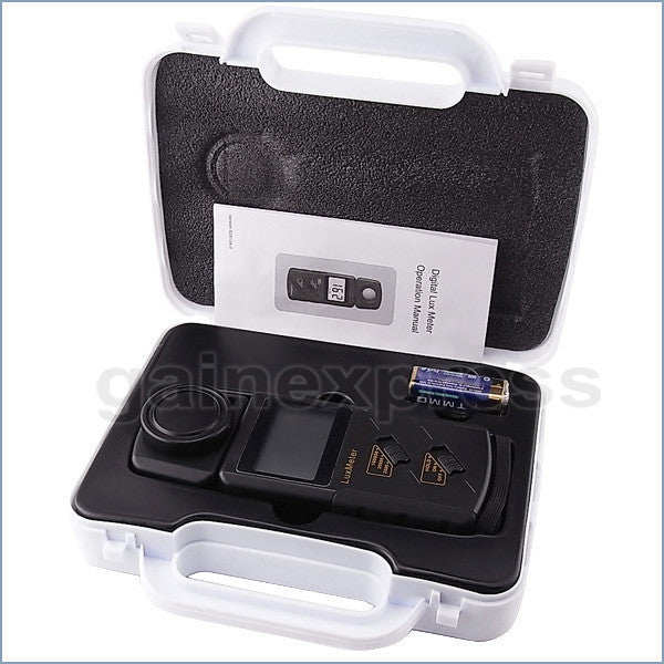 LXA-318 Digital Lux Light Meter 100,000 Lux Luxmeter Photo LCD