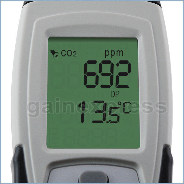 M0198132S Digital 3in1 CO2 Thermo-hygrometer Logger Made in Taiwan