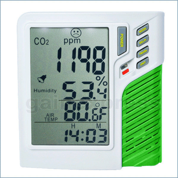 M0198137 Carbon Dioxide Temperature Humidity RH CO2 Monitor Taiwan Made
