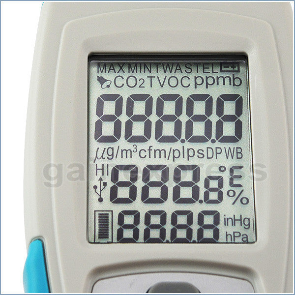 M0198171 Digital USB Interface Formaldehyde HCHO Thermo-hygrometer Meter Made in Taiwan