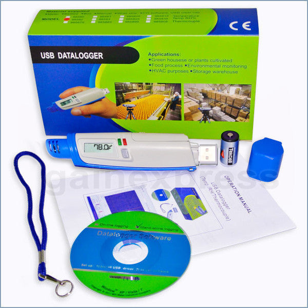 M0198583 Patented Mini USB Temperature & Humidity Datalogger TAIWAN MADE