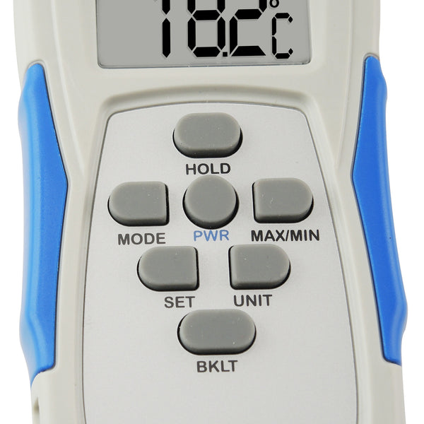 M0198873  Thermo-Hygrometer Relative Humidity Temperature Meter RH Tester Taiwan Made