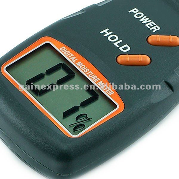 MDN-814 Wood Moisture Meter Tester, 4 Pin, 5% - 40%, NEW DESIGN