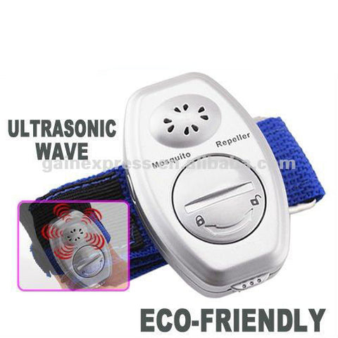 MR-011 Watch-type Ultrasonic Electronic Anti Mosquito Killer Repeller Repellent Control