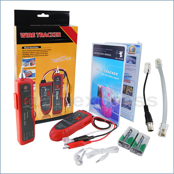 N03NF-806R Network LAN or Telephone Cable Wire Tracker Open Circuit Tester