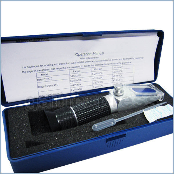 RHAN-200ATC New Handheld 200ATC °C Antifreeze/Battery/Cleaning Fluid Refractometer