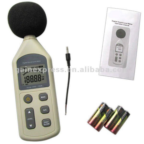 GM-1357 30~130 dB Digital Sound Pressure Level Noise Decibel Meter Tester