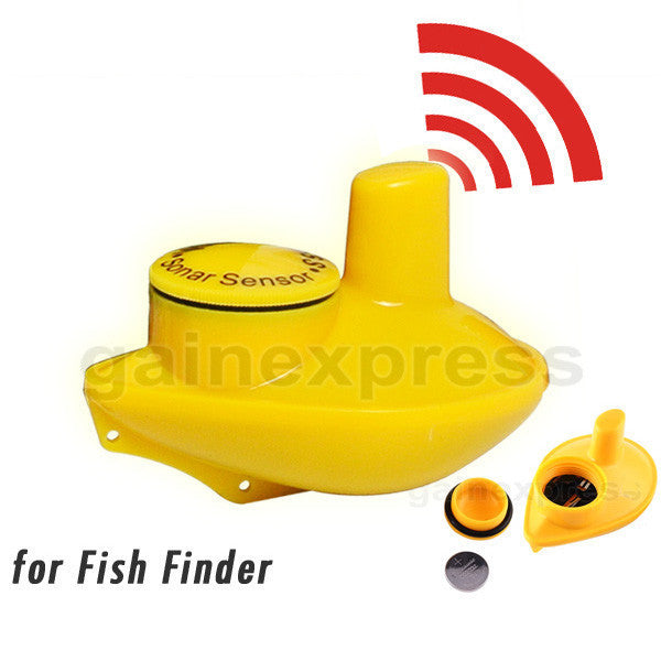 SNS-718S Optional Extra Wireless 60M Sonar Sensor for Fish Finder Items