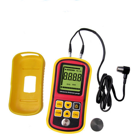 TM100 Ultrasonic Thickness Meter Tester Gauge Velocity 1.2~225mm Metal