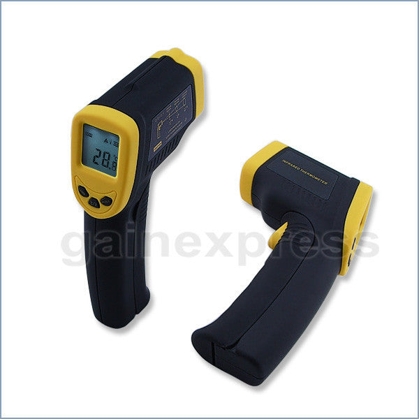 IR-600 Infrared IR Laser Thermometer -32~400°C / -26~752°F Distance Spot-Ratio 12:1