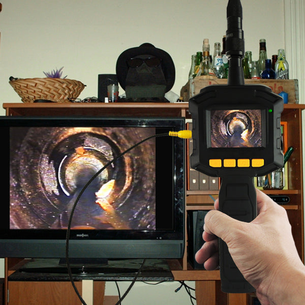 "VID-10 Industrial 2.31"" TFT LCD 8mm Camera Borescope Endoscope 4 LED Lights"