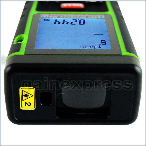 X01RZ-E40 Digital 40M Laser Distance Area Volume Pythagorean w/ Spirit Level Range Finder Tool